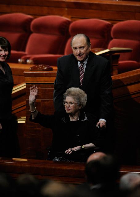 Президент Томас С. Монсон о своей жене
