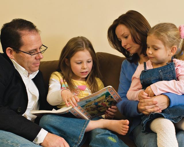 Верования мормонов о семьях